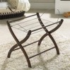 Izziwotnot Moses Basket Stand for Palm Baskets- Mahogany