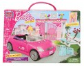 Barbie convertable car toy set Mega bloks