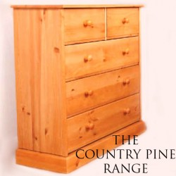 Saplings Country Pine 3 +2 Chest of Drawers