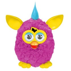 Furby New Hot pink body and yellow ears. Interactive Hasbro toy
